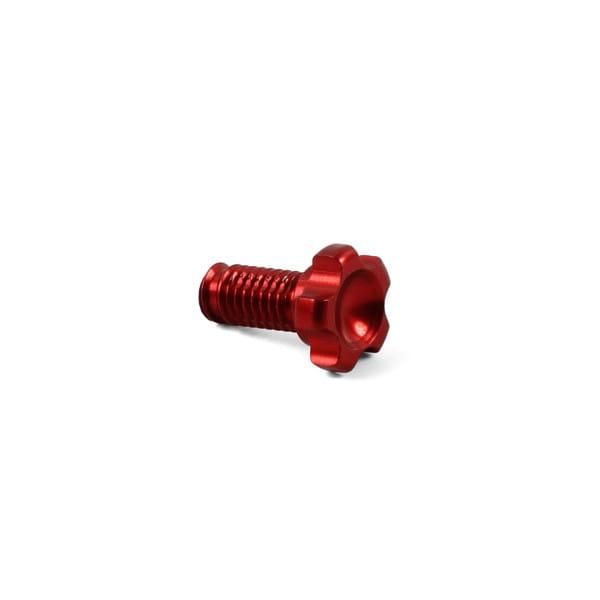 Tech-Hebel Druckpunkt-/Griffweiteneinstellschraube - Rot