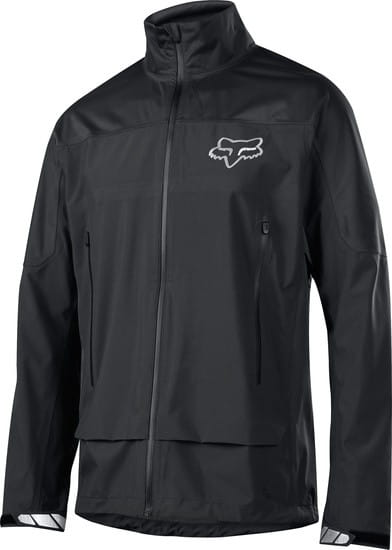 Attack Water Hardshell Jacke - Black