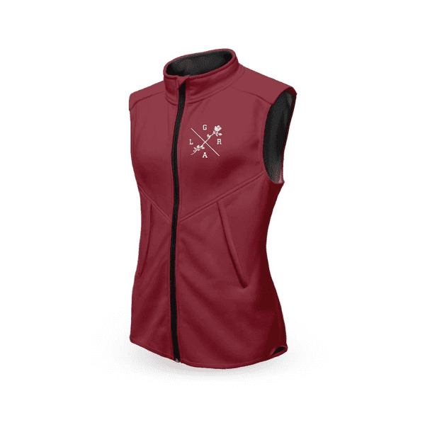 Technical vest women - Burgundy