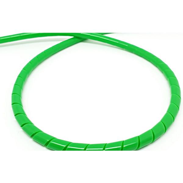 Spiralschlauch für Bremsleitung 2m - Neon Grün