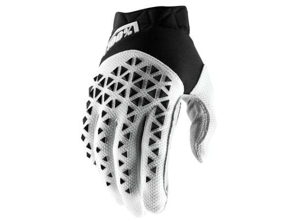 Airmatic Glove - Weiß/Silber