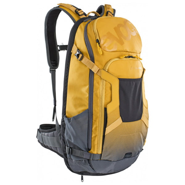 FR Trail E-Ride Protektoren-Rucksack - Gelb/Grau