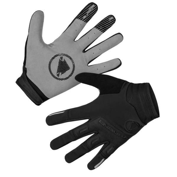 SingleTrack Windproof Handschuhe - Schwarz