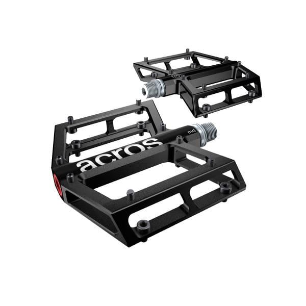 A-Flat MD Plattformpedal - schwarz