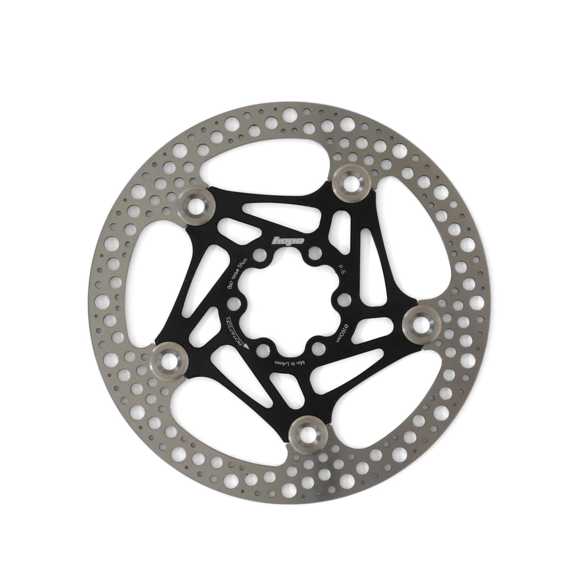 Hope Road Rotor 160mm Bremsscheibe - schwarz online kaufen | BMO Bike-Mailorder