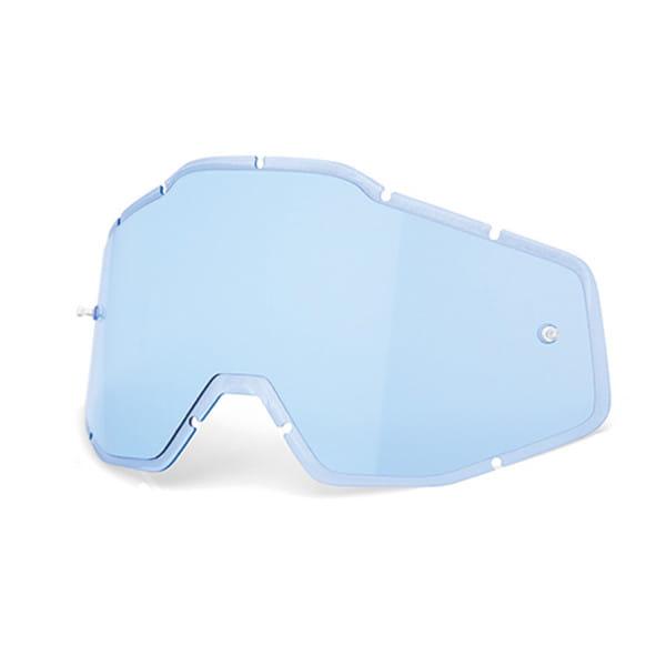 Gespritzte Ersatz Linse Anti-Fog - Blau