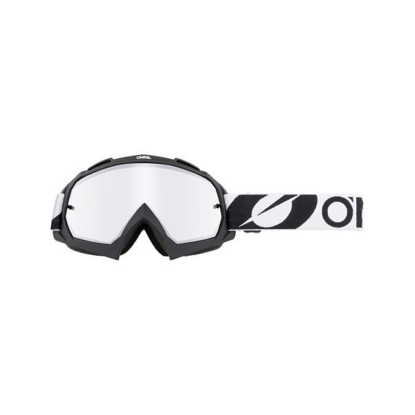 B-10 Twoface - Silber Verspiegelt - Goggle - Schwarz