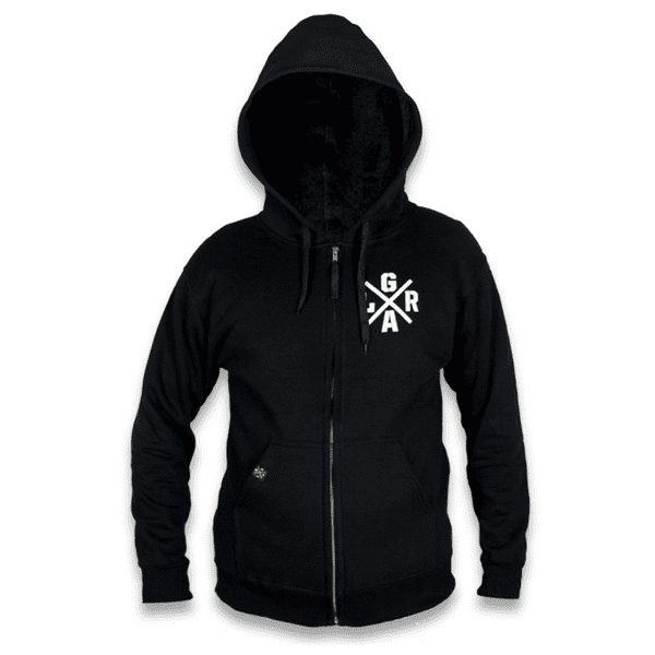 Alliance Hoodie - Schwarz/Weiß