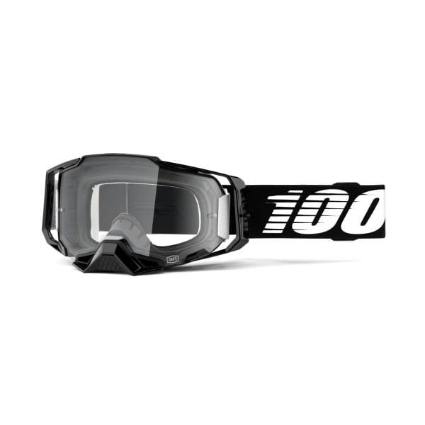 Armega Goggle Anti Fog - Schwarz/Weiß - Klar