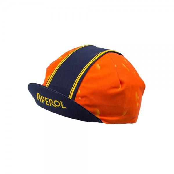 Pella Vintage Cycling Cap - Aperol