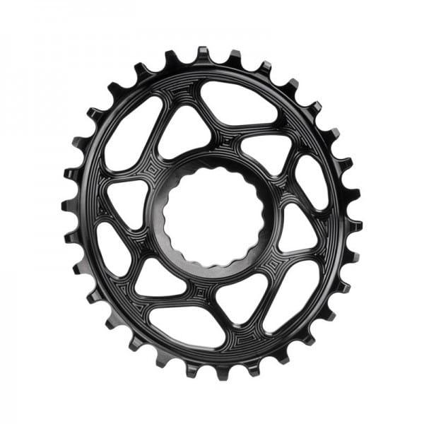 Race Face Cinch Direct Mount Kettenblatt - Oval - 3 mm Offset - Boost - schwarz