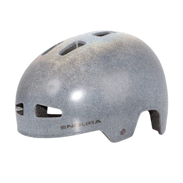 PissPot Helm - Reflective grey