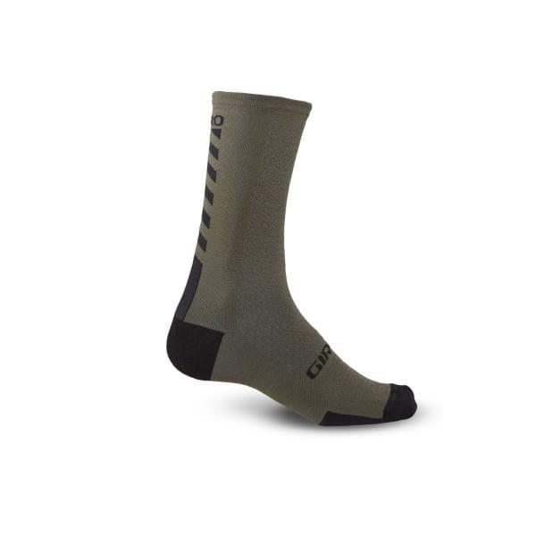 HRC + Merino Socken - Schwarz Olive