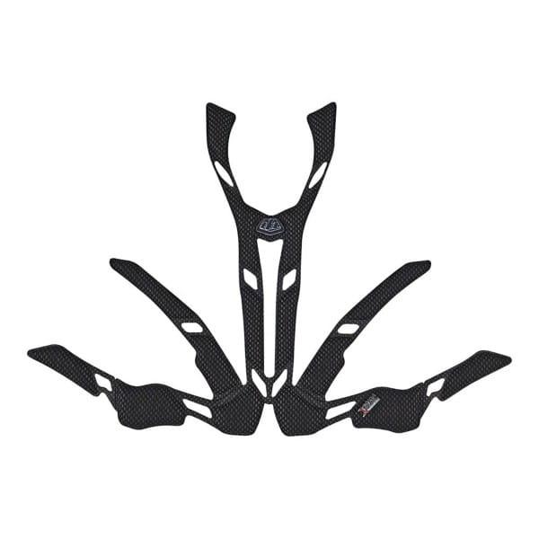 A2 Helm Kopfpolster - Black