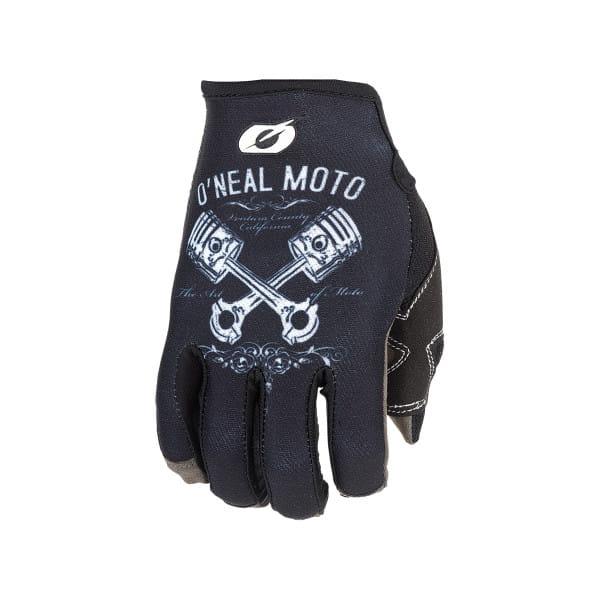 Mayhem Piston II - Handschuhe - Schwarz/Weiß