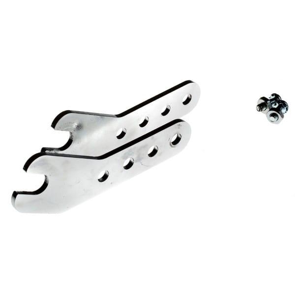 Universal Radhalter - Silber