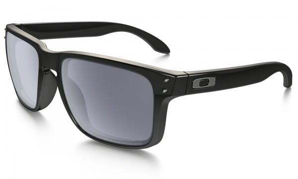 Holbrook Sonnenbrille - Polished Black - Polarized Grey