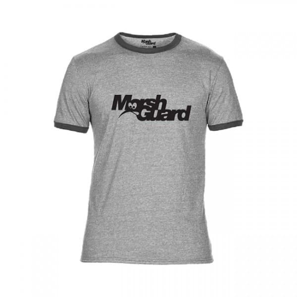 Ringer T-Shirt - grau