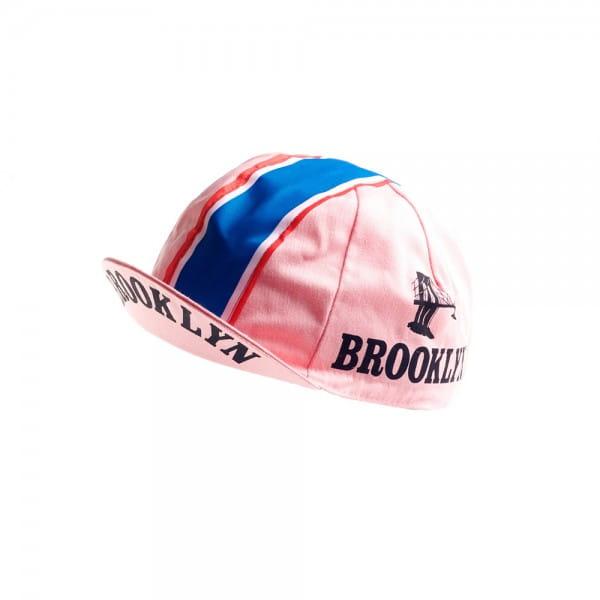 Vintage Cycling Cap - Brooklyn Pink