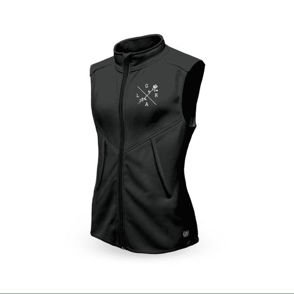 Technical vest women - black