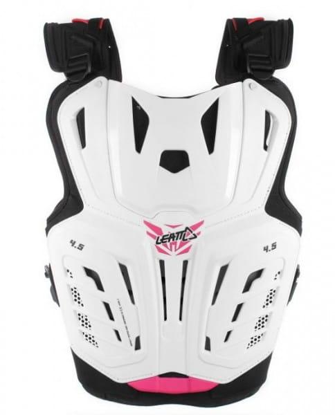 Brust Protector 4.5 Jäcki - white / pink