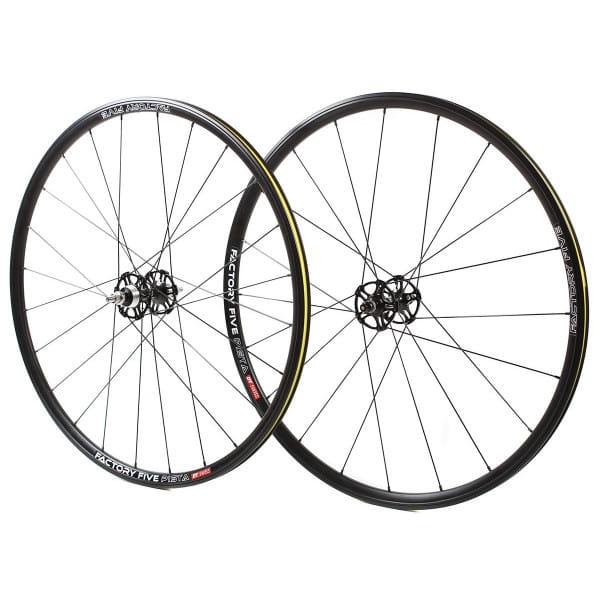 Pista Laufradsatz - schwarz