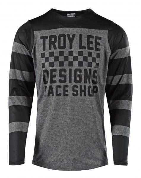 Skyline LS Jersey - Checker Grey/Black