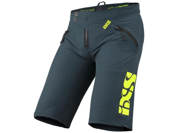 Trigger Shorts - Blau/Neongelb