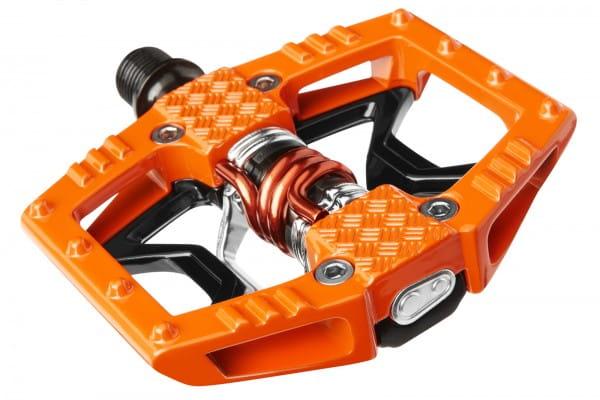 Double Shot Hybrid Pedal - orange