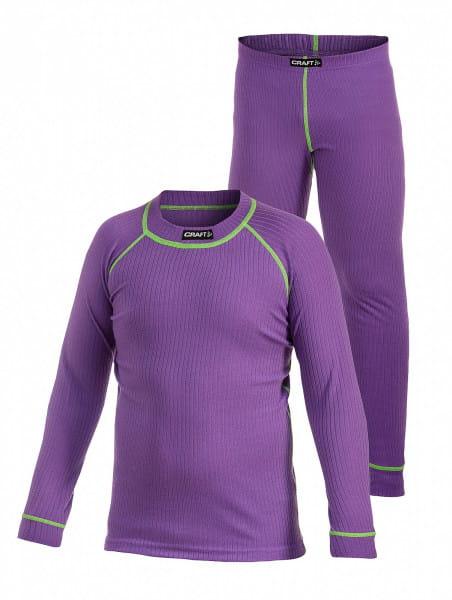 Active Underwear-Set Junior Lilac/Gecko