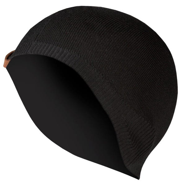 BaaBaa Merino Mütze - Skull Cap II - Schwarz