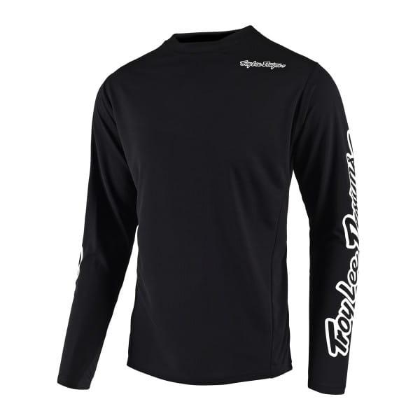 Sprint Jersey - Trikot Langarm - Schwarz