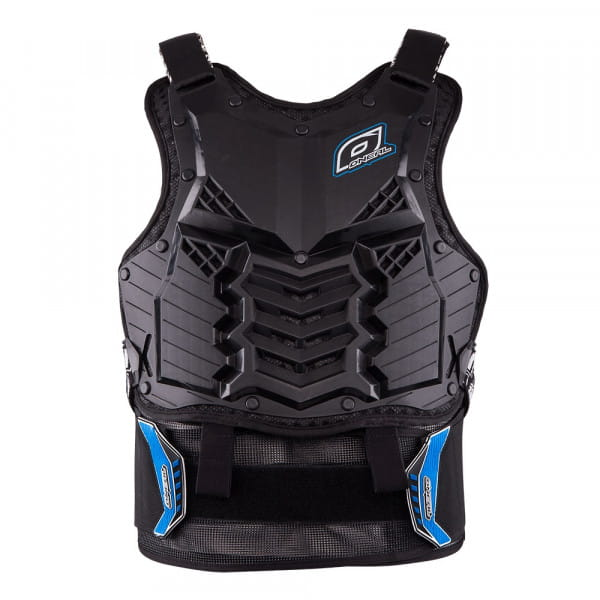 Holeshot Crank Roost Guard - long - black/blue