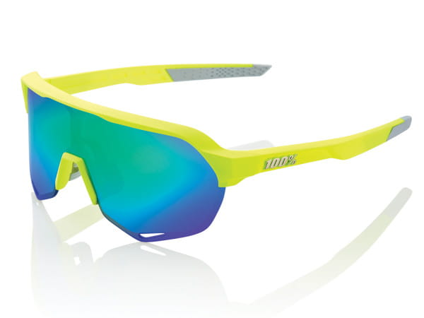 S2 - Multilayer Mirror Lens - Fluorescent Yellow