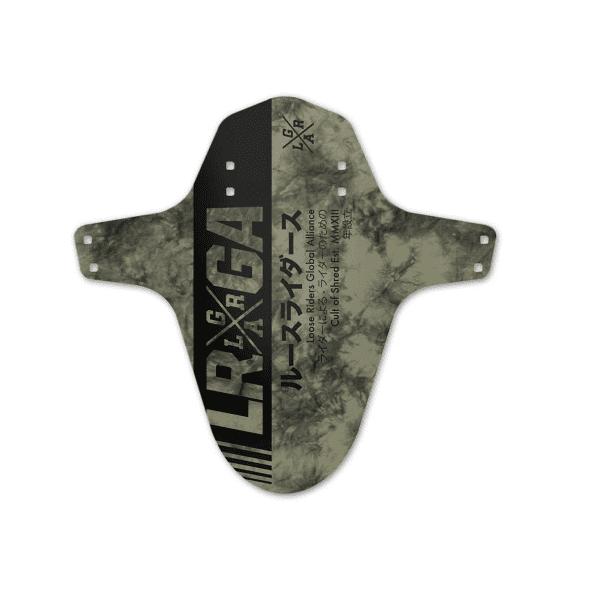 Mudguard Tie Dye Army - Schwarz/Grün