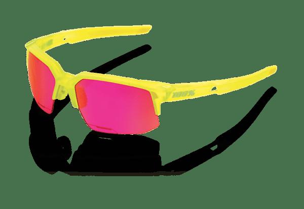 Speedcoupe Sportbrille - Purple Multilayer Mirror Lens - acidulous