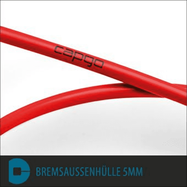 Bremsaussenhülle 3m BL - Rot