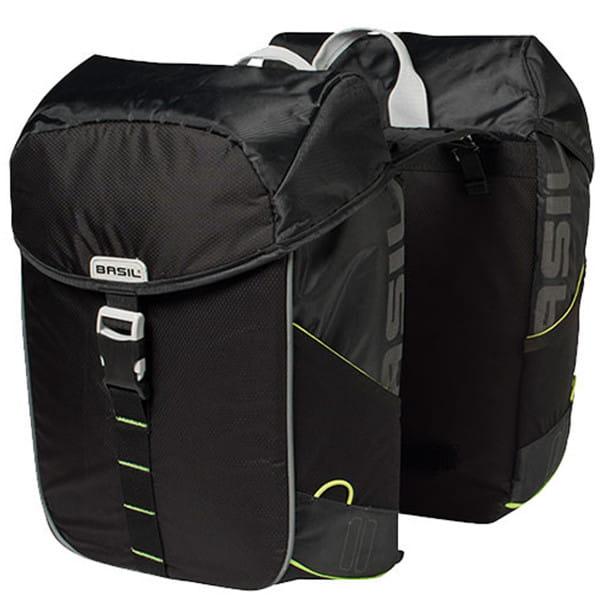 Doppeltasche Miles schwarz- 32 Liter
