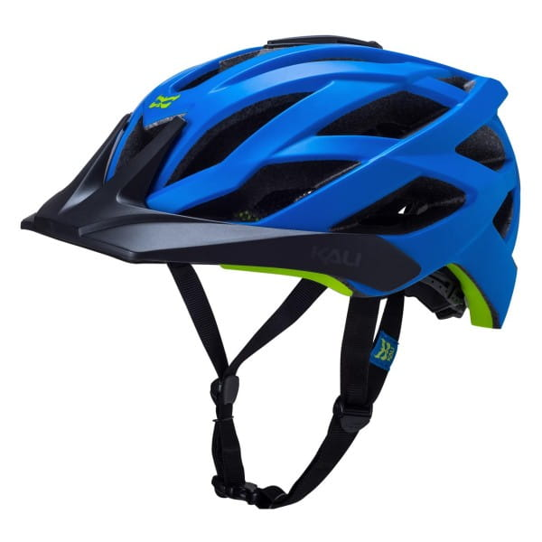 Lunati Trail Helm - Blue/Green