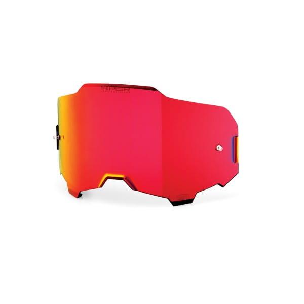 Armega HiPER Anti-Fog Ersatzscheibe - Rot verspiegelt