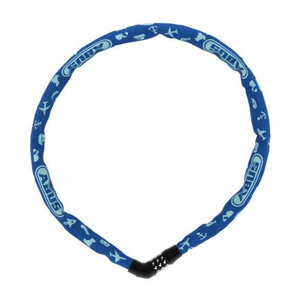 Steel-O-Chain 4804C/75 - Symbol Kinderlernschloss - Blau