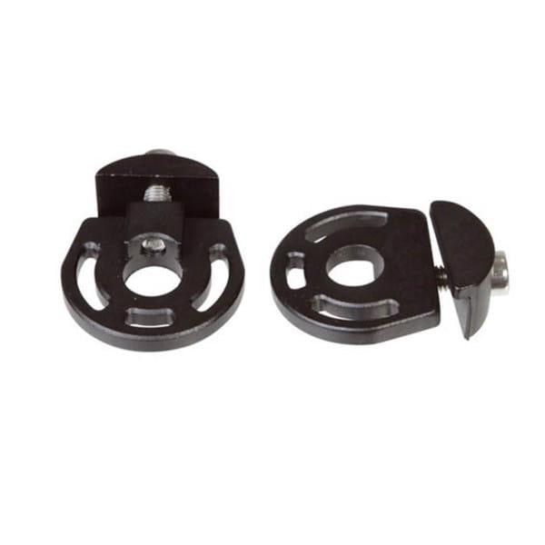 Kettenspanner Paar für horizontale Ausfallenden 10 mm - Schwarz