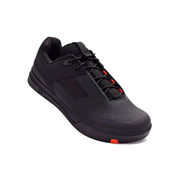 Mallet Schuh - Schwarz / Rot