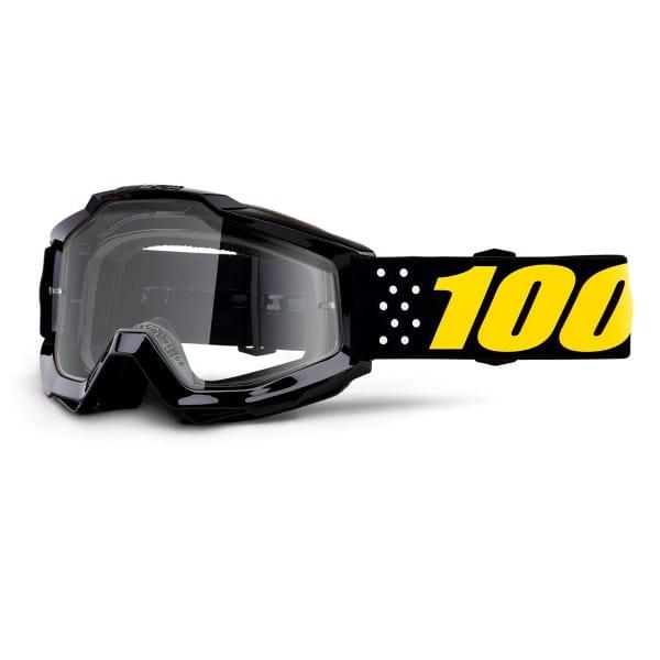Accuri Goggle Anti Fog Clear Lens - Pistol