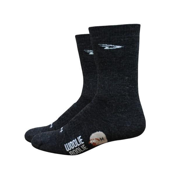 Woolie Boolie Socken - Carcoal Grau